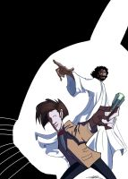 Jesus and The Doctor by Jorell-Rivera