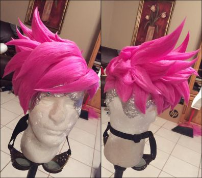 Punk Tracer Wig by xHee-Heex