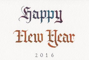 Happy New Year 2016 by MShades
