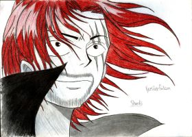 Red Haired Shanks 2 by KyceSilverFalcon