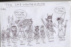 I.M.P fellowship of the ring. by Luke-the-F0x