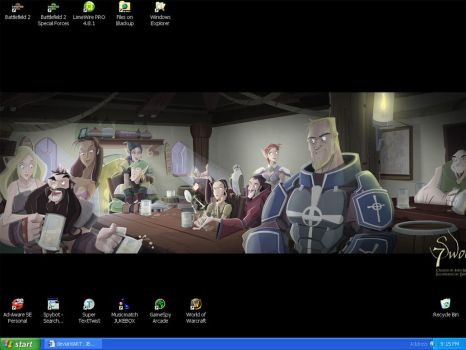 My Desktop ala Dapper Dan by JBourlett