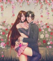 Commission: Lian and Jumin by LABS107