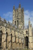 Canterbury Cathedral II by YunaHeileen