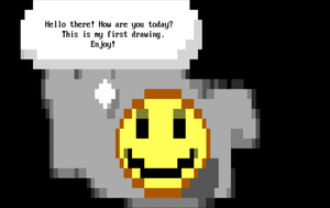 ANSI art drawn with PabloDraw by norbert79
