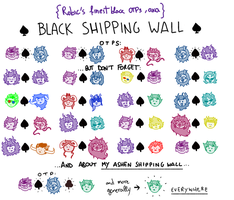 -BlackandAshenShippingWall- by RobicTheEscapist