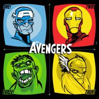 Avengers by FlapJoy
