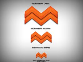 MicroMedia 3D Logo by PhotoUpDown