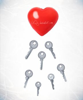 one heart, more keys by LiiQa