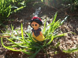 Snow White Necklace Charm by AshiviAlpha