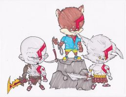 KRATOS CORPS by hclix