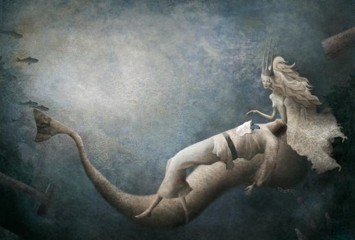 gabrielpacheco the little mermaid by makemylandingpages
