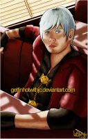 Dante - Devil May Cry by MissKingdomVII