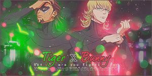 Tiger and Bunny signature by lady-alucard