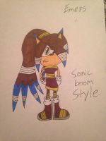 Emers sonic boom style by emerswell