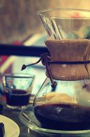 Coffee for a fine morning. 3 by Alhor-Ern