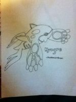 Kyogre by TheNeonUmbreon