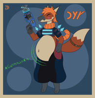 [Vore Character] Dyr the Voltail by ZoneDragon