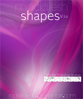 PS Brush-21 Shapes 1.2 by oridzuru