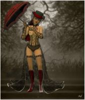 The Red Parasol by SubVirgin