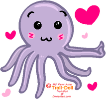 Octolove by Troll-Doll