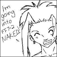 Zack and His General Nakedness by rydiahighwind