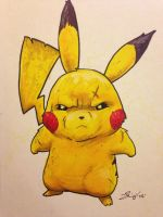 pikachu:lv100 by grizlyjerr