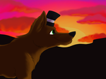 Til in the Sunset by CursedFire