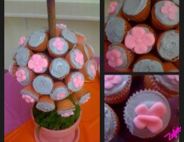 BB Shower Cupcakes by Sophizo