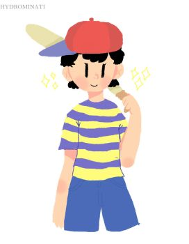 Ness (Collab with firevomit) by HydroMinat1