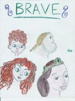 Brave Characters by LittleMissBrynne