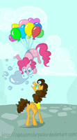 Bubbles and Balloons ~ Cheesepie by EverlastingDerp