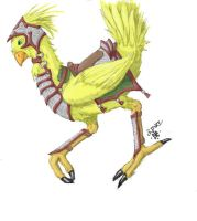 Chocobo Color by DariAmtuc
