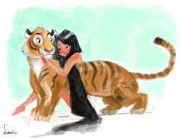 Tiger by victoriaying