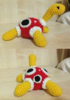 Shuckle Amigurumi by TombRaiderKuchen