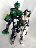 bionicle: couples by CASETHEFACE