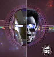 Ironman : Skullified by fantasio