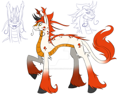 Qilin FiM style by Fly-Sky-High