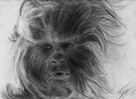 Star Wars - Chewbacca by Anelle-L
