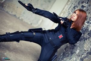 Agent Romanoff by MorganaBlackwings