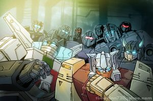 Wheeljack And Co by timshinn73