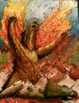 Typhlosion Explosion by Cloudpuncher