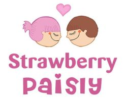 Strawberry Paisly by yael360