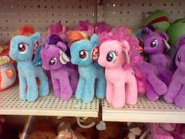 Ty MLP Beanie Babies by Names-Tailz