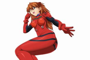 Evangelion-Asuka-Langley-Souryu by Mr123GOKU123