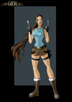 lara croft by nightwing1975