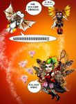 STEAMPUNK GOBLINS fluttering around by Dollysmith