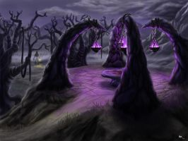 Darkwoods Altar Concept by MaddMim