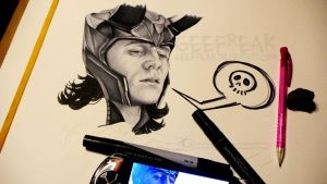 Send the Rest-Loki by GeeFreak