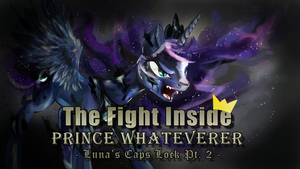Ponymania Halloween - The Fight Inside by Calenita